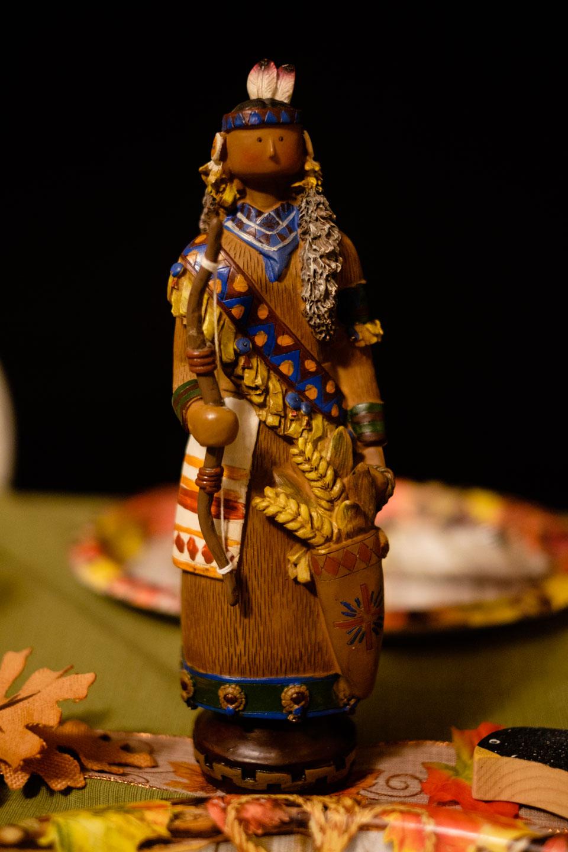 A Native American aka Indian