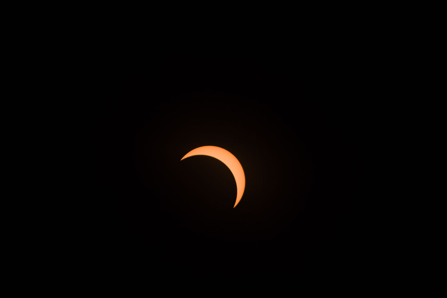Stage of the solar eclipse