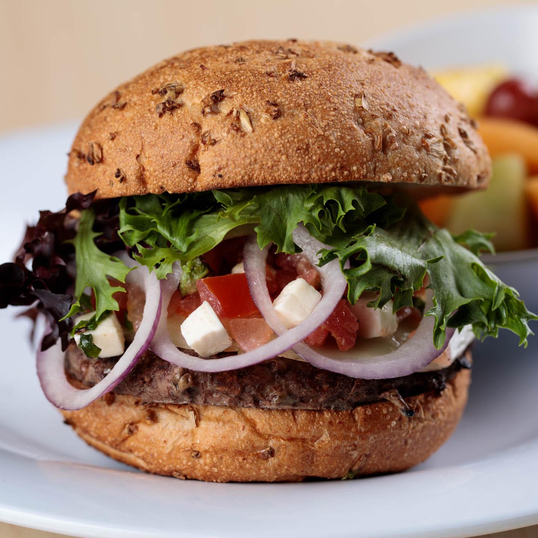 Bruschetta Style Burger