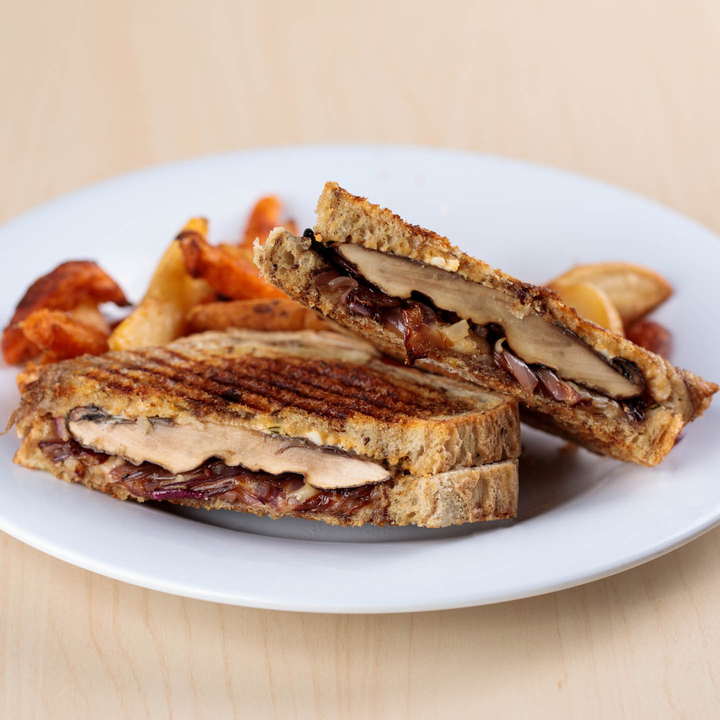 Portobello Patty Melt