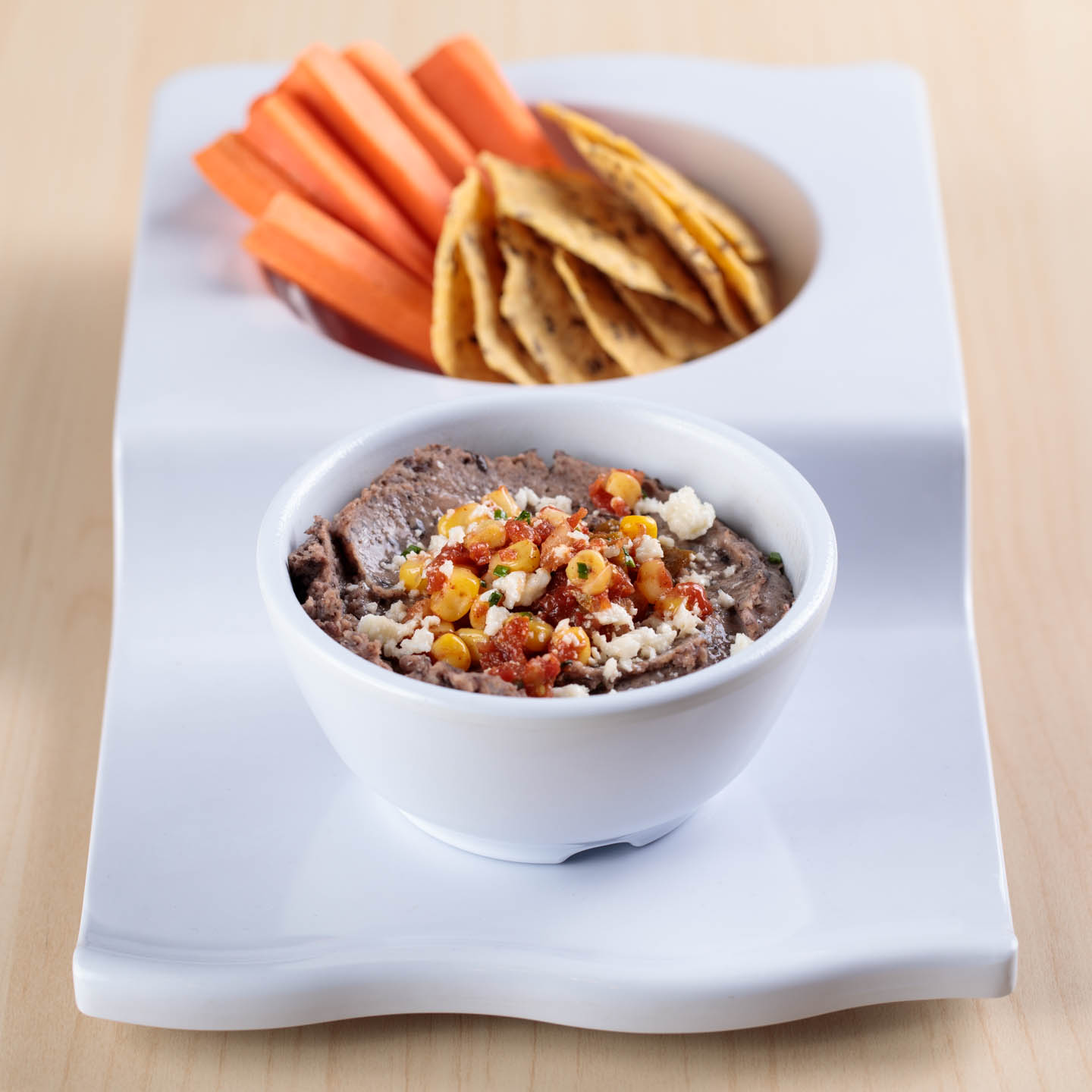 Southwest Black Bean Hummus