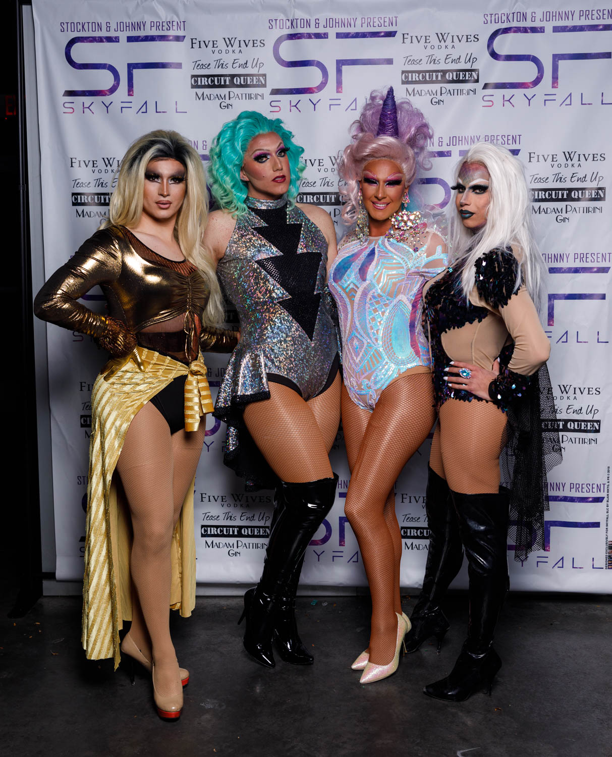 A night of drag queens