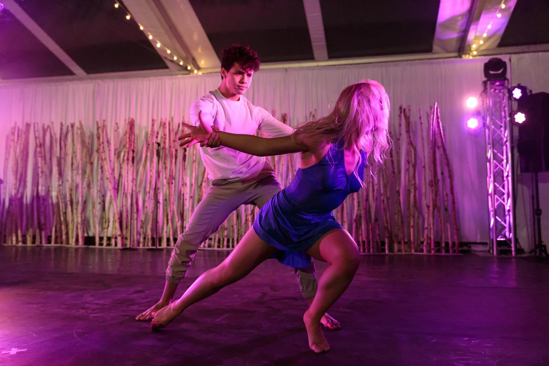 A dancer couple