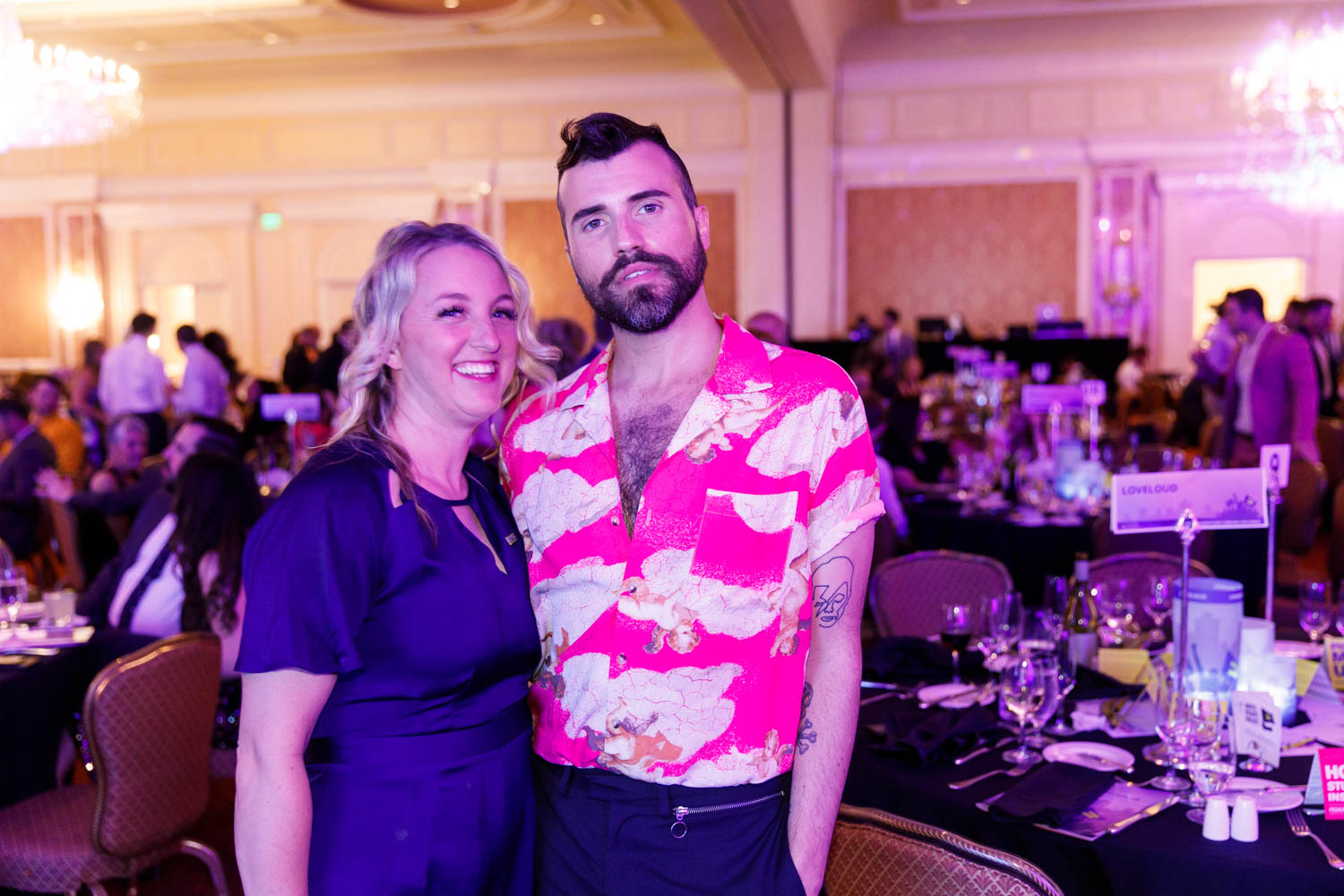 Tyler Glenn and Pamela