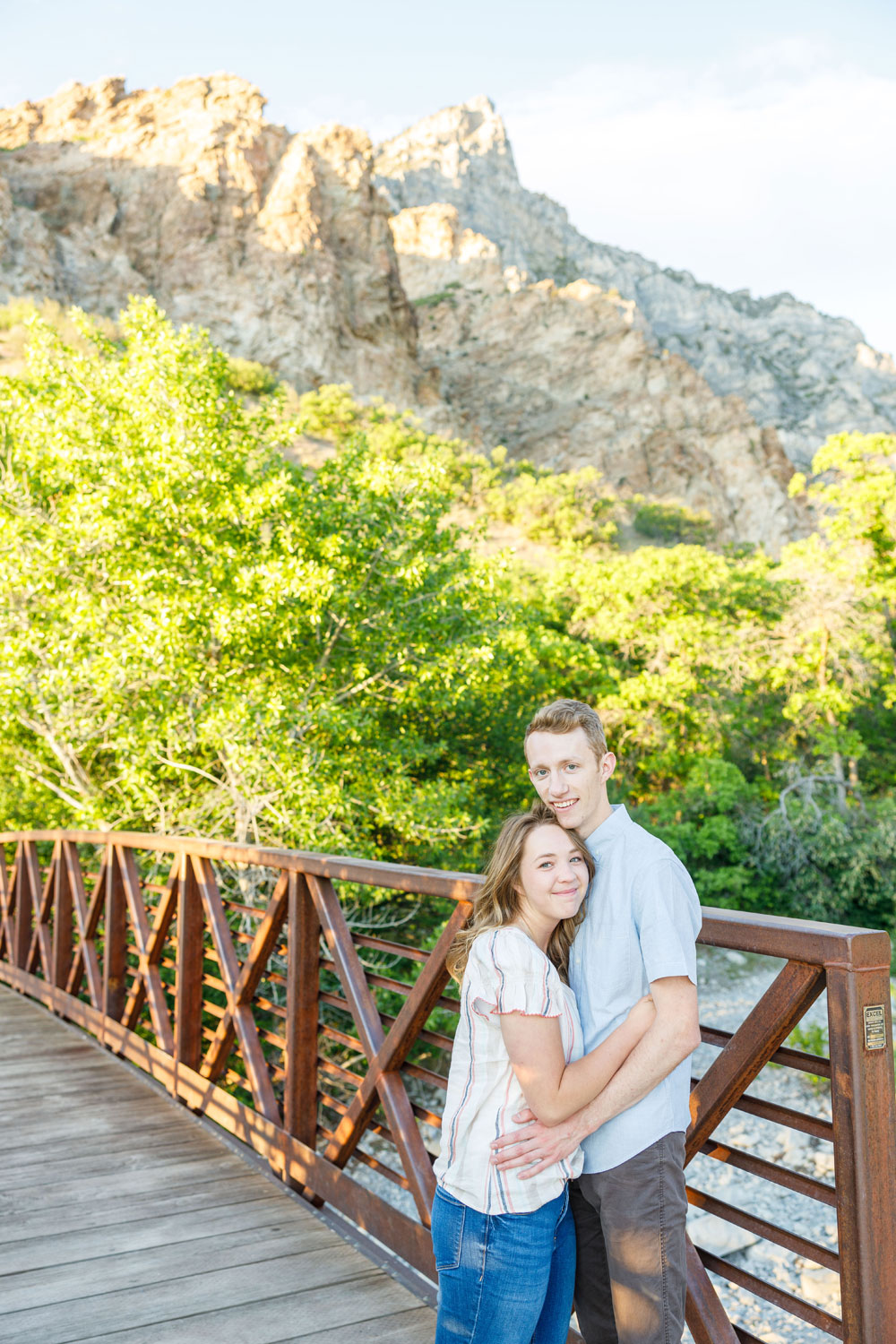 Bridges, mountains, canyons, and couples