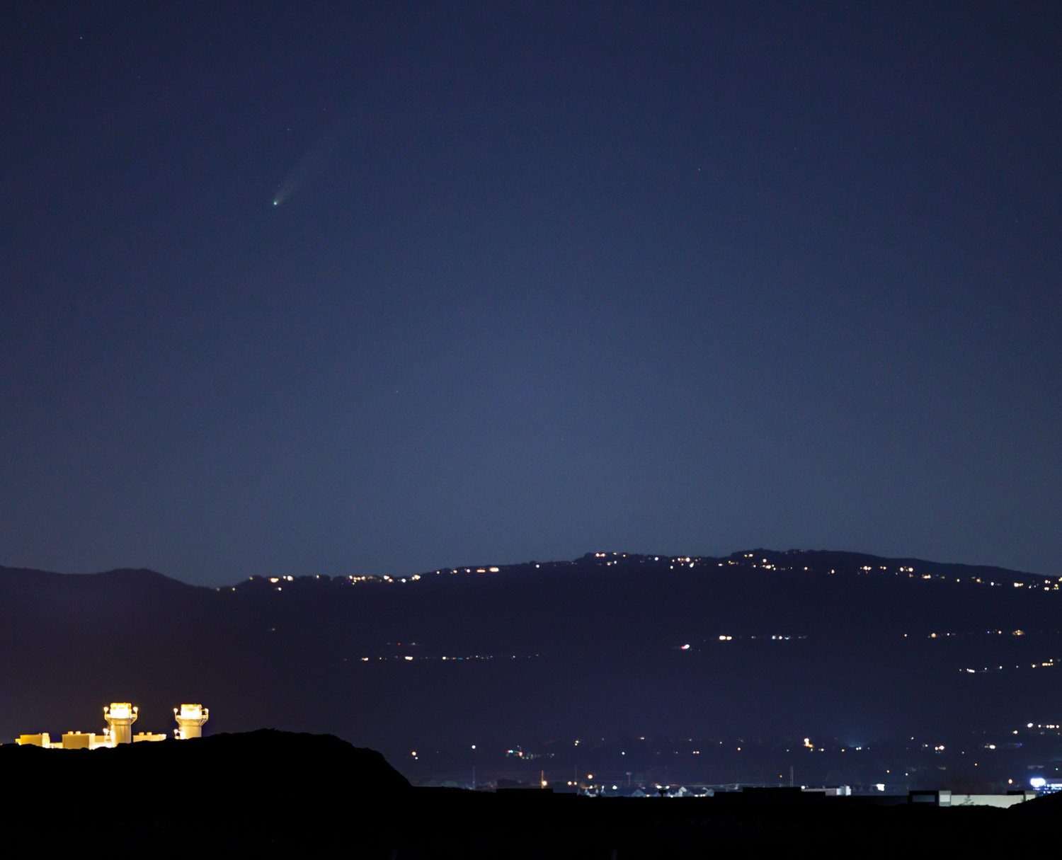 Neowise Comet over Utah County